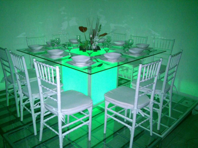 mesas de cristal pistas oskama